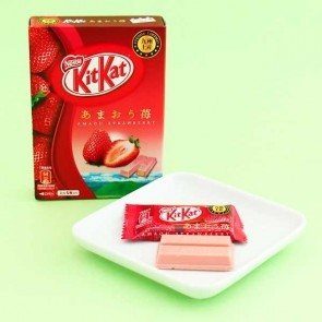 Kit Kat Chocolates - Amaou Strawberry