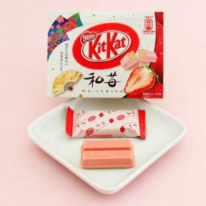 Kit Kat Chocolates - Wa-Ichigo