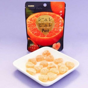 Kanro Pure Mandarin Orange Gummy
