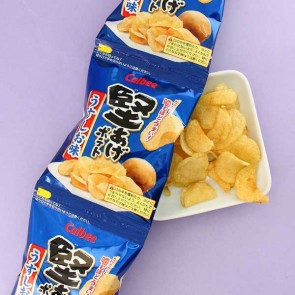 Calbee Crunch Potato Chips Light Salt Flavor - 4 pcs