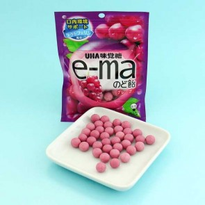 UHA e-ma Throat Candy - Grape Flavor