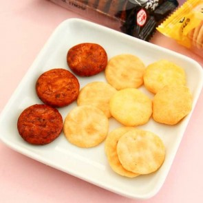 Bourbon Petit Senbei Rice Cracker Set - 8 pcs