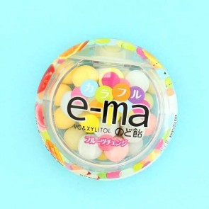 UHA e-ma Throat Candy - Fruit Change