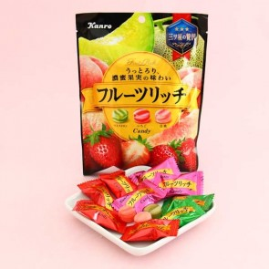 Kanro Fruits Rich Candies