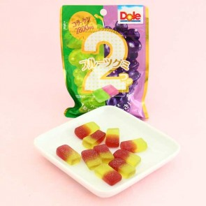 Dole Gummy Candy - Grape & Muscat Grape