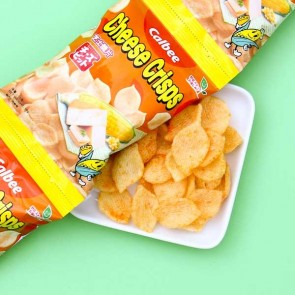 Calbee Corn & Cheese Chips - 4 pcs