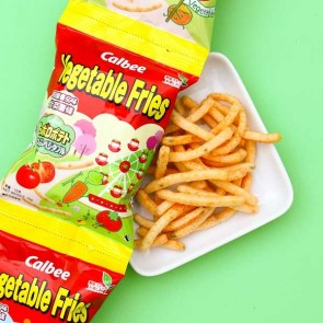 Calbee Potato Vegetable Fries Tomato Flavor - 4 pcs