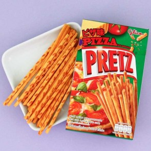 Glico Pretz Biscuit Sticks - Pizza