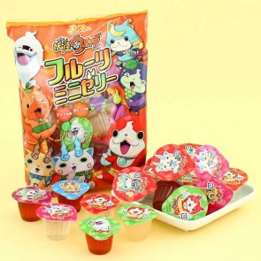 Akiyama Yo-Kai Watch Fruit Mini Jelly Set - 18 pcs