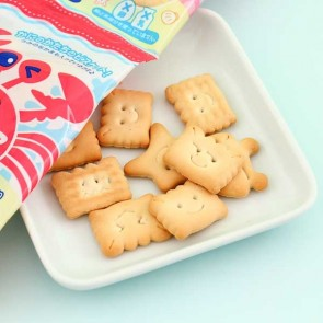 Sanritsu Cute Crab Design Biscuit Set - 4 pcs