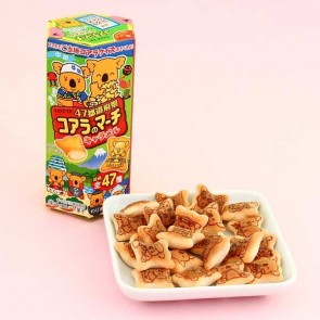 Lotte Koala's March Caramel Cookies - 47 Prefectures