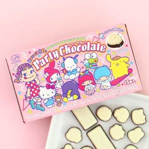 Fujiya Peko x Sanrio Characters Party Chocolate