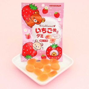 Rilakkuma Strawberry Gummies