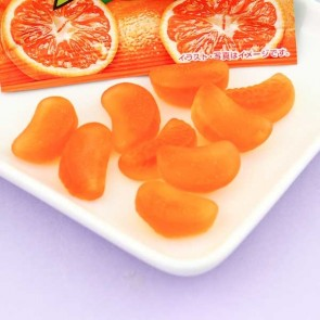 Sakuma POM Juice Gummy Candies - Mikan Orange