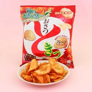 UHA Osatsu Doki Sweet Potato Chips - Autumn Edition