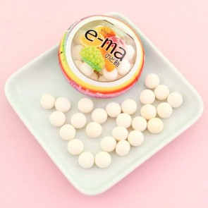 UHA e-ma Fruit Juice Candy - Sparkling Fruit Flavor