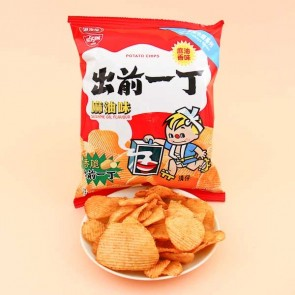 Nissin Koikeya Demae Iccho Potato Chips - Sesame Oil