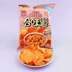 Nissin Cup Noodles Potato Chips - Shrimp & Salt