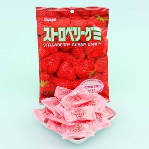 Kasugai Strawberry Gummy Candies
