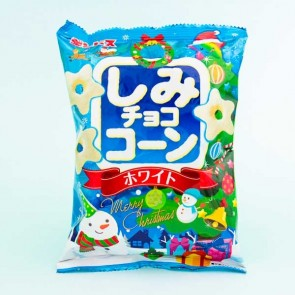 Ginbis Shimi Christmas Choco Corn Snacks