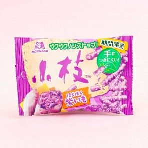 Morinaga Almond Chocolate Sticks - Purple Sweet Potato