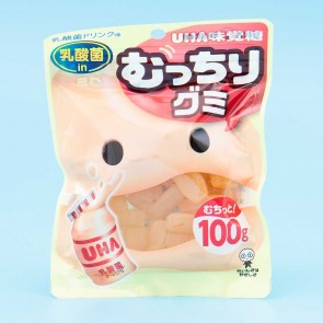 UHA Mucchiri Gummy Candies - Yakult Yogurt