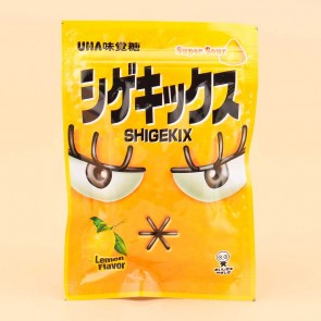 UHA Shigekix Super Sour Gummy Drops - Lemon
