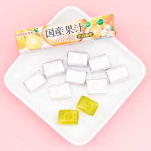 UHA Japanese Citrus Throat Candies