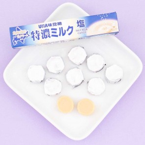 UHA Tokuno 8.2 Milk High Concentrated Candies - Salt Milk