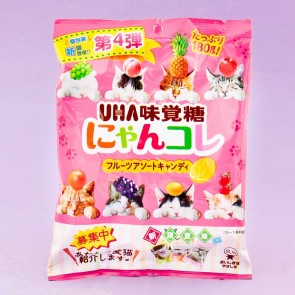 UHA Nyan Kore Cat Fruit Candies - Fruit Mix