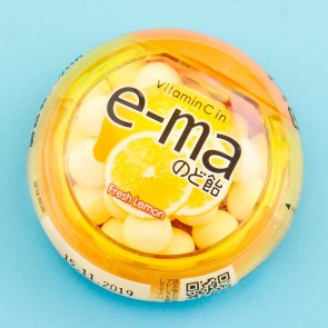 UHA E-ma Throat Candy - Fresh Lemon