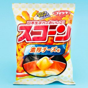 Koikeya Scon Corn Snack - Rich Cheese