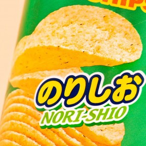Chip Star Potato Chips - Nori Shio Seaweed Salt