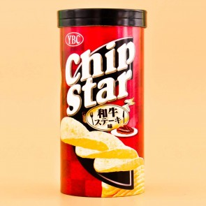 Chip Star Potato Chips - Beef Steak
