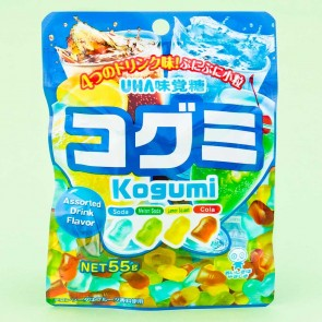 UHA Kogumi Fruit Juice Gummies - Assorted Drinks Flavor