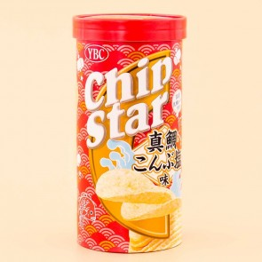 Chip Star Potato Chips - Red Sea Bream Konbu Salt