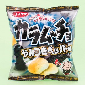 Koikeya Karamucho Potato Chips - Pepper