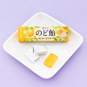 Lotte Honey & Papaya Throat Candy