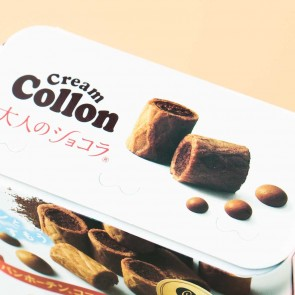 Glico Collon Biscuit Roll - Fragrant Chocolate