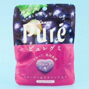 Kanro Pure Grape Gummies
