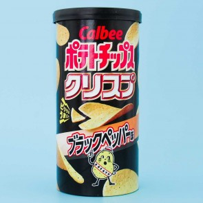 Calbee Potato Chips - Black Pepper