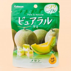 Kabaya Pure & Natural Melon Gummy Candies