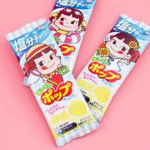 Fujiya Peko-Chan Salty Lemon Lollipop