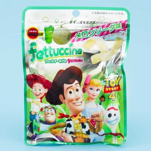 Bourbon Toy Story Fettuccine Gummies - Melon Soda