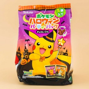 Pokemon Halloween Party Snack Pack - 5 pcs