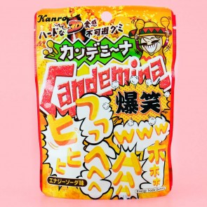 Kanro Candemina Gummies - Hilarious Energy Soda