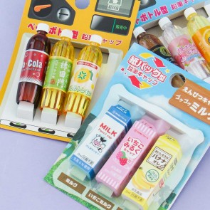 Japanese Drinks Pencil Caps