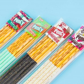 Glittery Biscuit Stick Scented Pencil Set
