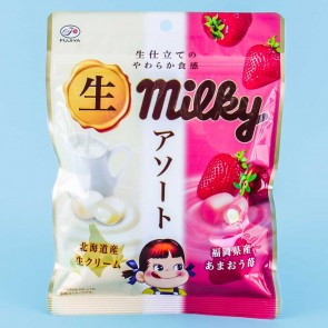 Peko Milky Candy Bag - Milk & Amaou Strawberry