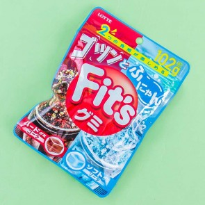 Lotte Fit's Gummies - Hard Cola & Soft Soda
